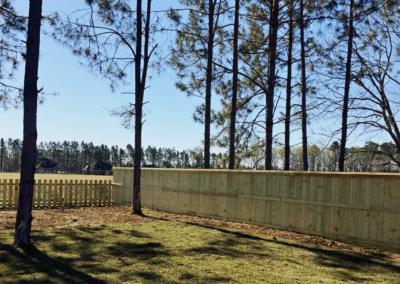 Wood Fencing | Private | Semi-Private | Privacy Pros Statesboro